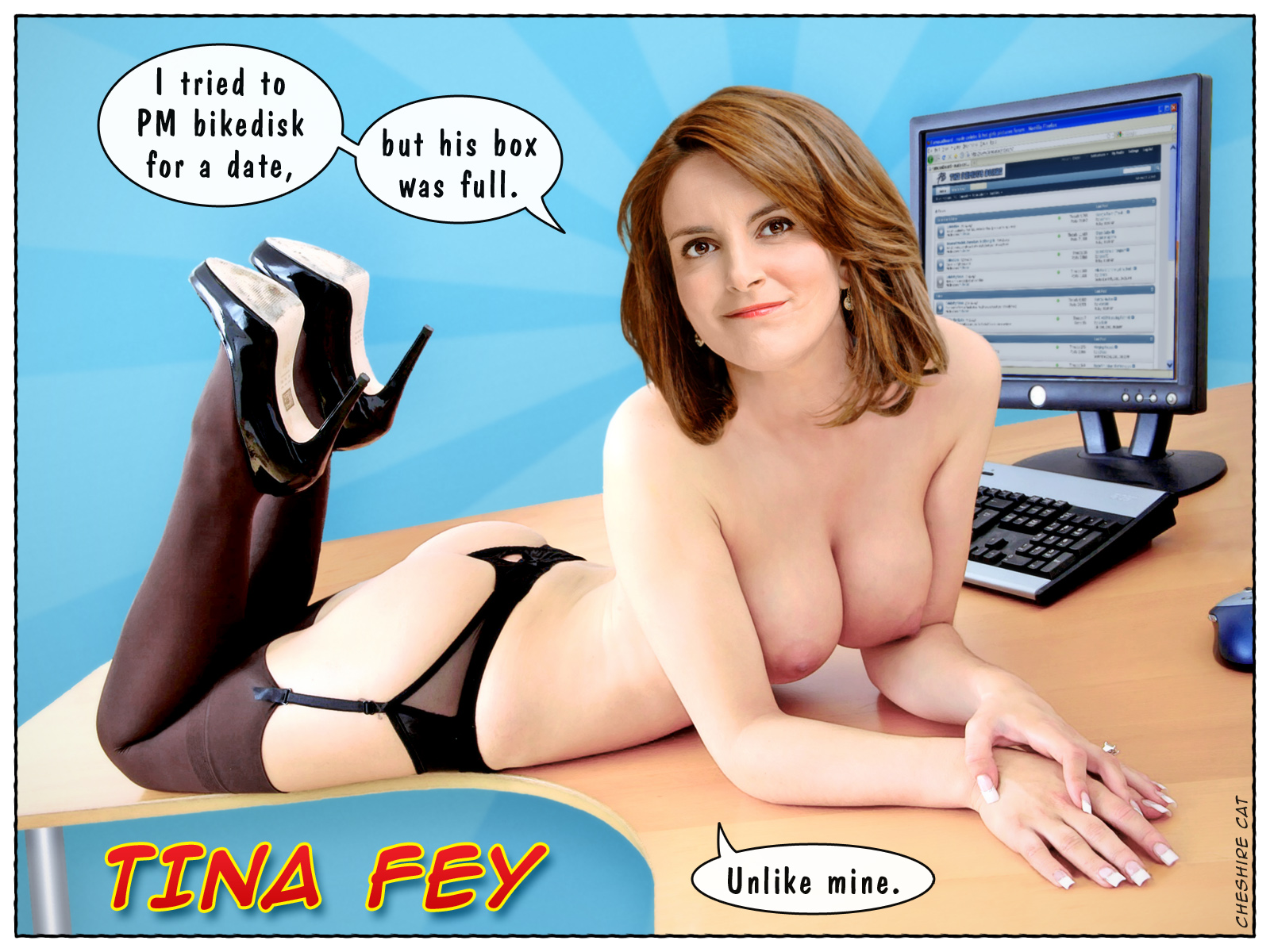 tina fey fake naked